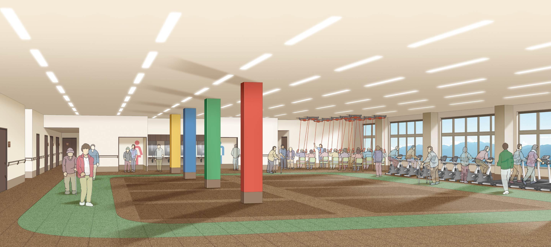 県内最大級の次世代型デイサービス新施設 長野市桐原に2020年夏オープン「デイトレセンター リヴァール長野」